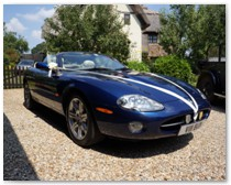 XK8 Jaguar Sports Car